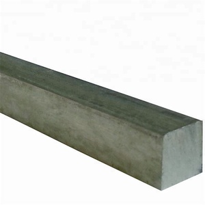 Hot dipped galvanized mild steel square iron bars for machinery making