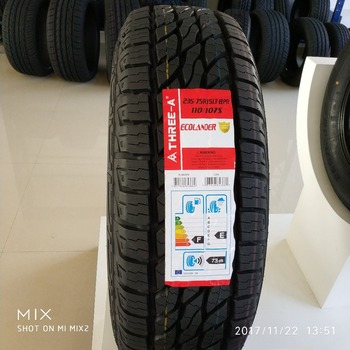 Yatone Pcr Car Tyre At 4 Suv Off Road 215 85r16lt Ecolander