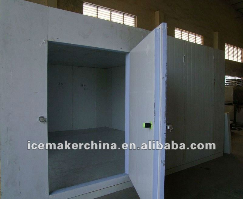 Fish cold storage room installed in Zambia