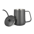 Promotional 350ml Gooseneck Pour Over Coffee Drip Kettle Stainless Steel Coffee Pot