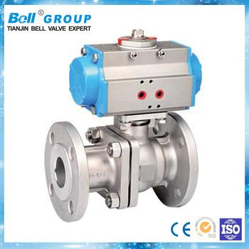 Dn90 Pneumatic Actuator Diaphragm Ball Valve