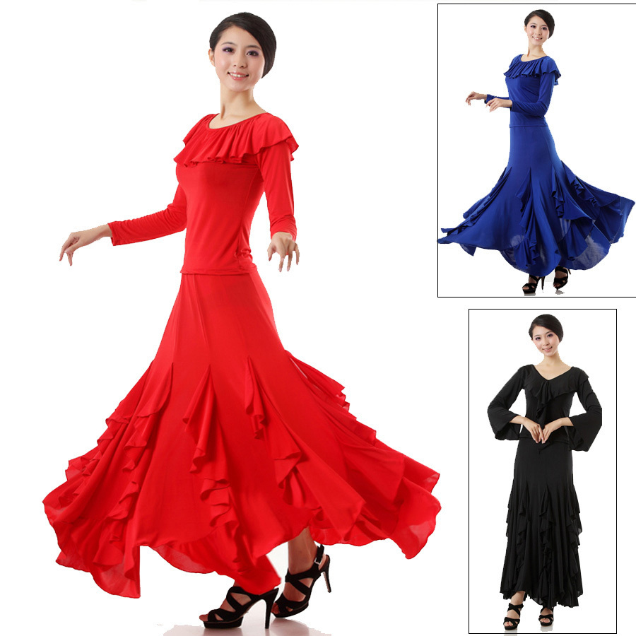 Cheap Waltz And Tango Find Deals On Line At Alibabacom Dance Steps Diagram Get Quotations 2015 New Arrival Ladies Ballroom Dress Women Red Blue Black