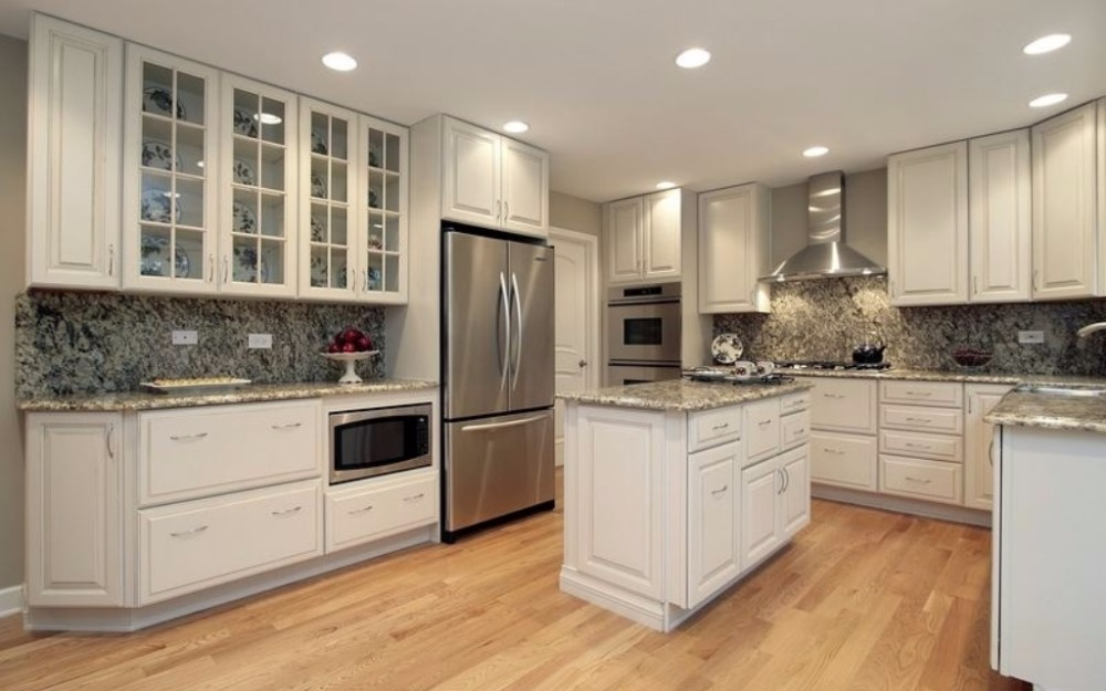 Modern style solid wood used kitchen cabinets craigslist for Kitchen cabinets craigslist