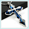 silver black blue Cross Pendant Necklace Chain jewelry Kimisohand high qulity personality accessories