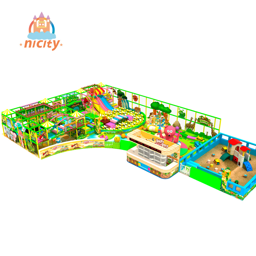 Kids colorful soft inflatable indoor playground equipment for sale