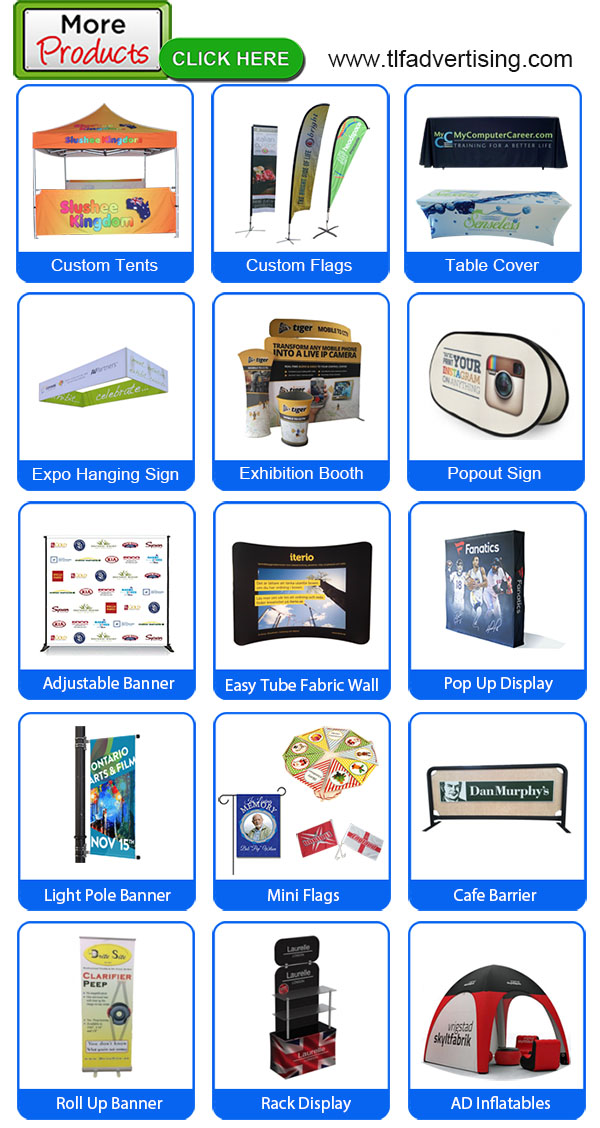 Deluxe Premium Custom Portable Scrolling Roll Up Banner 33x78