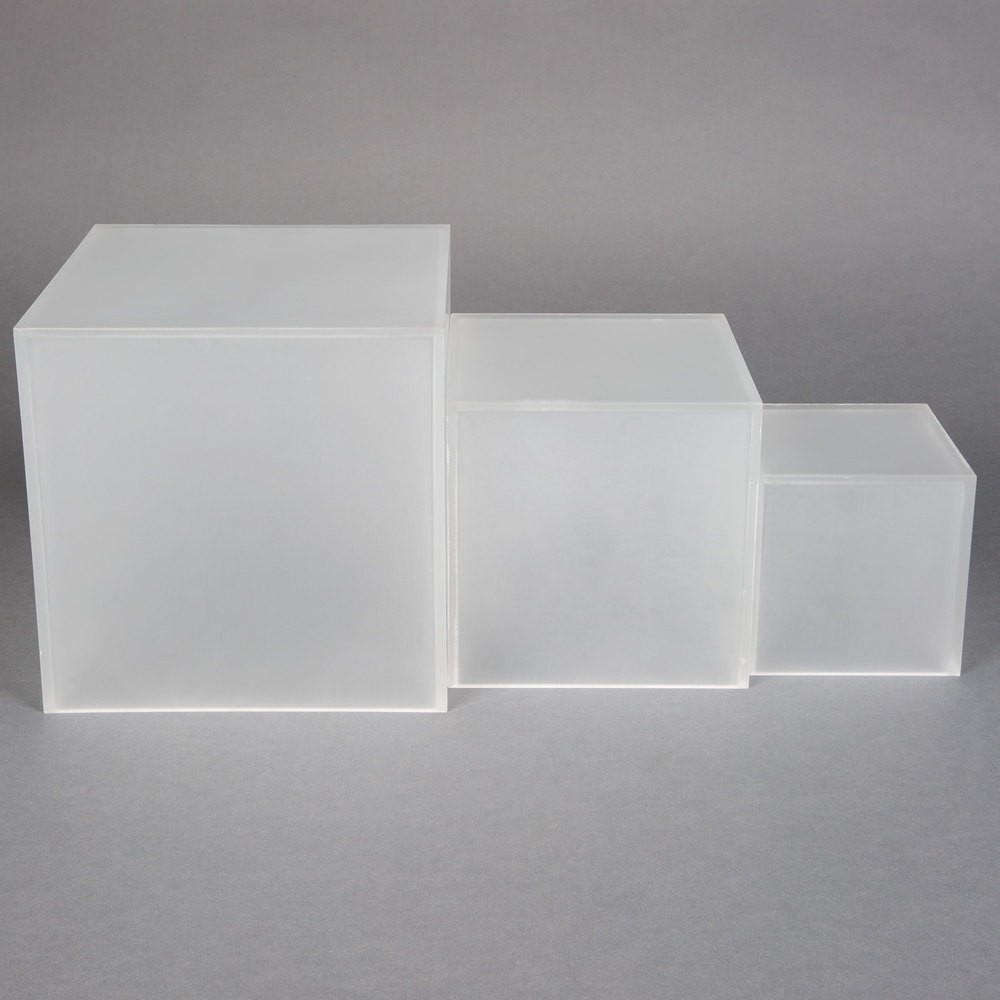 Frosted Acrylic Cube Riser Wholesale Buy Acrylic Cube