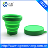 Portable silicone cup collapsible cup folding cup for travel