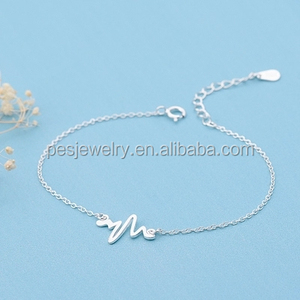 0288a71a29 Heartbeat Bracelet, Heartbeat Bracelet Suppliers and Manufacturers at  Alibaba.com