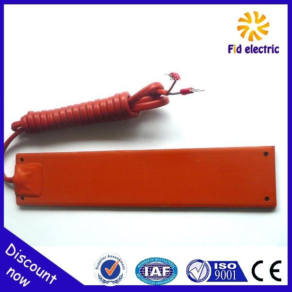 silicone rubber heater electric heater industrial electric thermal oil boiler/heater