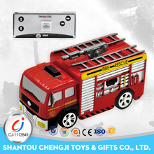Hot sell remote control toys plastic mini rc tow truck for sale