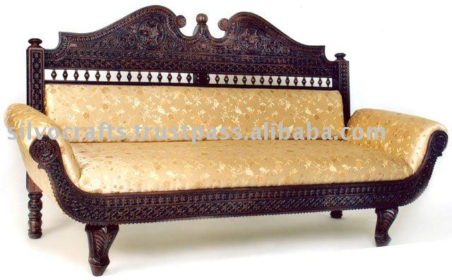 Stupendous Royal Indian Rajasthani Jodhpur Hand Carved Teak Wooden Sofa Diwan Sets Chaise Lounge Carved Furnitures By Classic Silvocraft Buy Carved Sofa Ncnpc Chair Design For Home Ncnpcorg