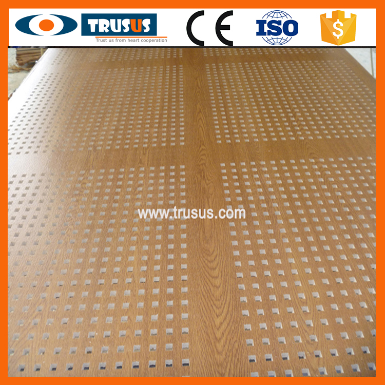 Advantage Of Gypsum Perforated Ceiling Board For False Wall