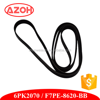 High Quality Bando V Belt for Ford Mon Deo 2.5L 6PK2070 F7PE-8620-BB