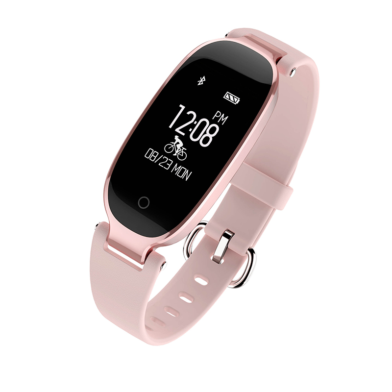 S3 Smart bracelet women Band touch screen Bluetooth Sport Passometer Sleep Tracker Fitness Tracker for IOS Android Phone