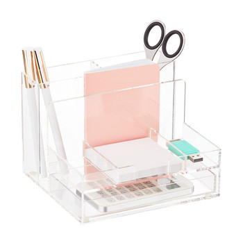 Custom Acrylic Pen Display Holder / Acrylic Desktop Organizer