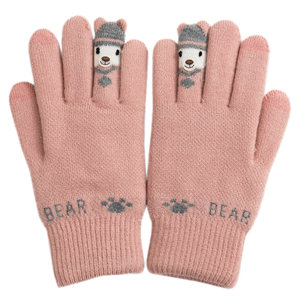 Back To Search Resultsapparel Accessories Women Lady Black Leather Gloves Autumn Winter Warm Rabbit Fur Mittens Warm And Mature Gloves 2019 Casual Gift