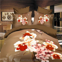 wholesale comforter sets bedding, 4 pcs king size bedding set of 120 gsm