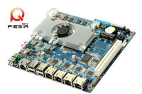 multiple network card motherboard With Intel Atom D2550 CPU with 4* RJ45 port/2*com/8*usb used for Network Security