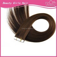 15 years experience manufacturer wholesale double drawn yaki tape hair extension skin weft