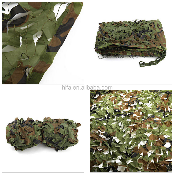 Military woodland camouflage net covering on car army camo net camouflage net military outdoor camping paintball game blinds