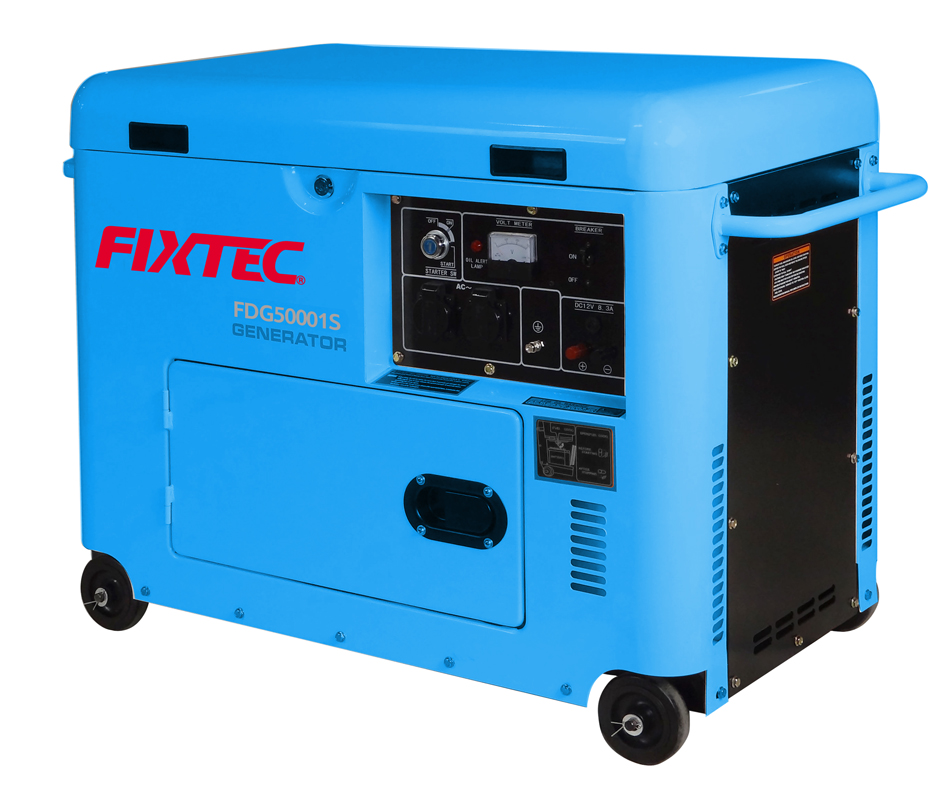 Fixtec Portable Electric Diesel Engine Generator