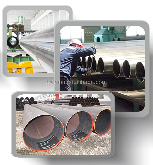 Chinese Standard GB Q235B/Q345 Large Diametr Thin Wall SAW/SSAW/LSAW/DSAW/HSAW Welded