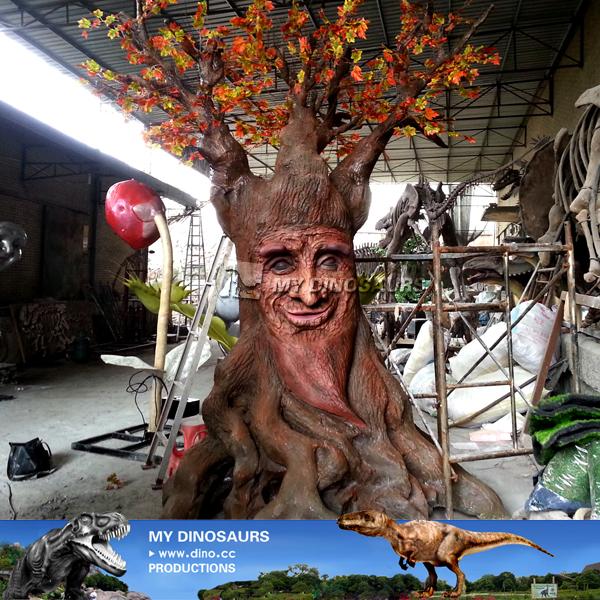 My Dino- Christmas Decoration Fairy Tale Animatronic Talking Tree ...