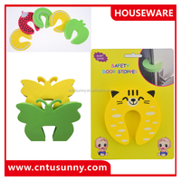 EN-71-3 certificate safety baby products unique cute eva foam kids door stopper