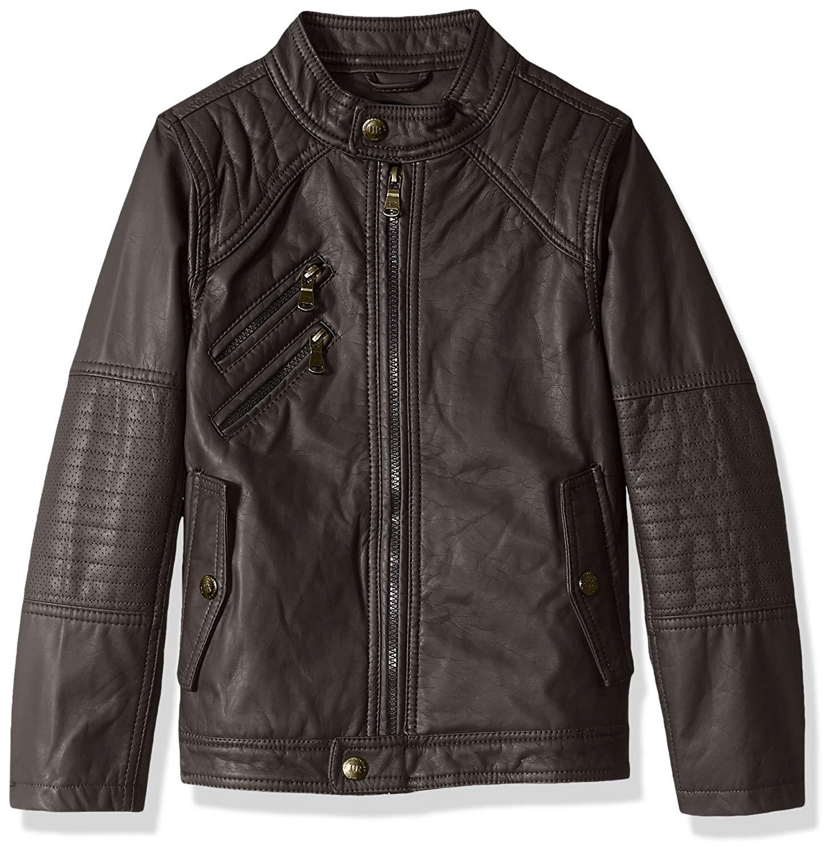 3b5d06a907e8 Cheap Boy Faux Leather Jacket