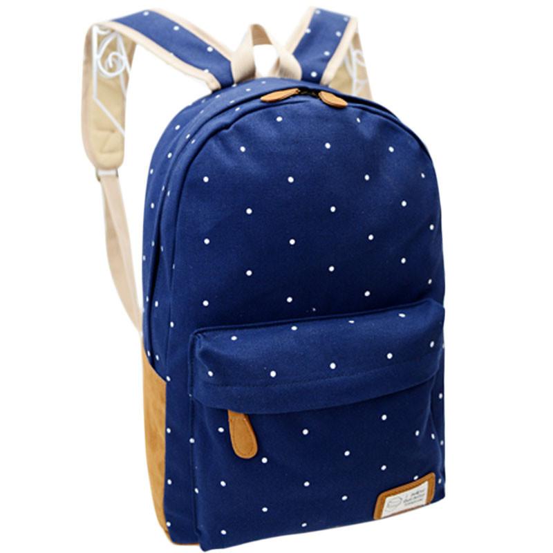 Buy canvas girls students backpack polka dot fashion school bags children  backpacks kids orthopedic elementary schoolbag book bag in Cheap Price on  Alibaba. ... eb0ee580b2a4c