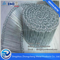 Soft and flexible straight cutting wire / binding wire / loop tie wire