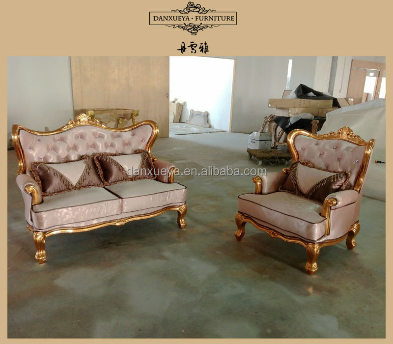 golden fabric curved french provincial furniture sofa set designs : french provincial sectional sofa - Sectionals, Sofas & Couches