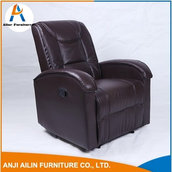 Home Furniture Single Seat Sofa Big Leather Easy Sofa Chair With Armrest