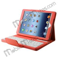 Detachable Foldable Magnetic Flip Leather Cover Case ABS Bluetooth Keyboard For iPad 4 iPad 3 iPad 2