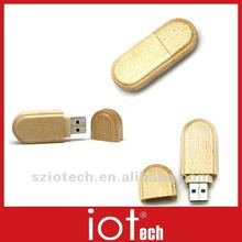 1GB 2GB 4GB 8GB Wooden USB Flash Drive