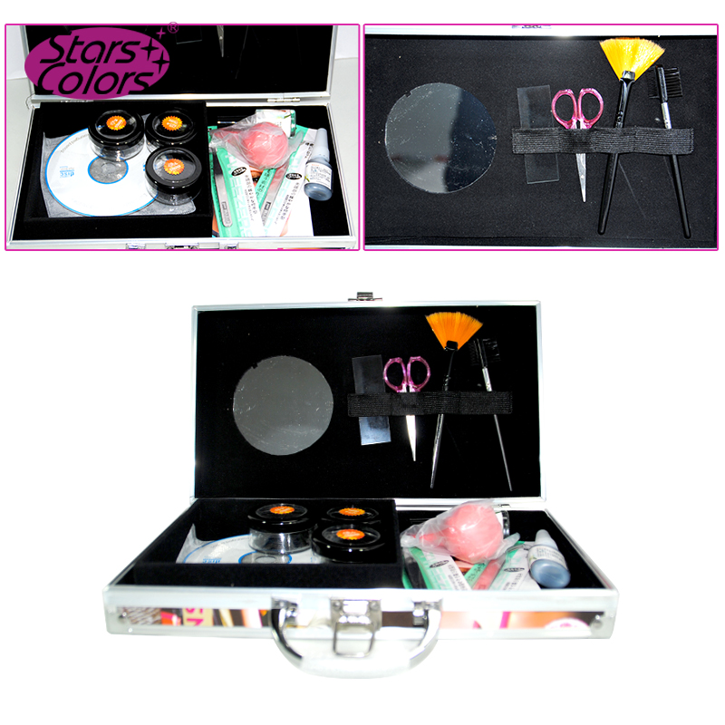 wholesale price red beauty engrafting eyelash extension kit E-001