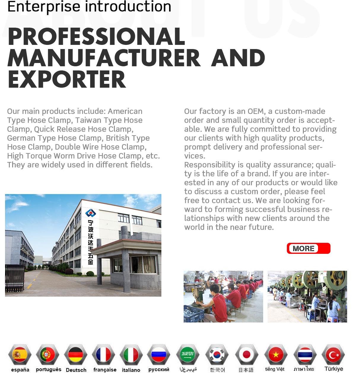 Ningbo Wodafeng Hardware Technology Co., Ltd. - Hardware Products ...