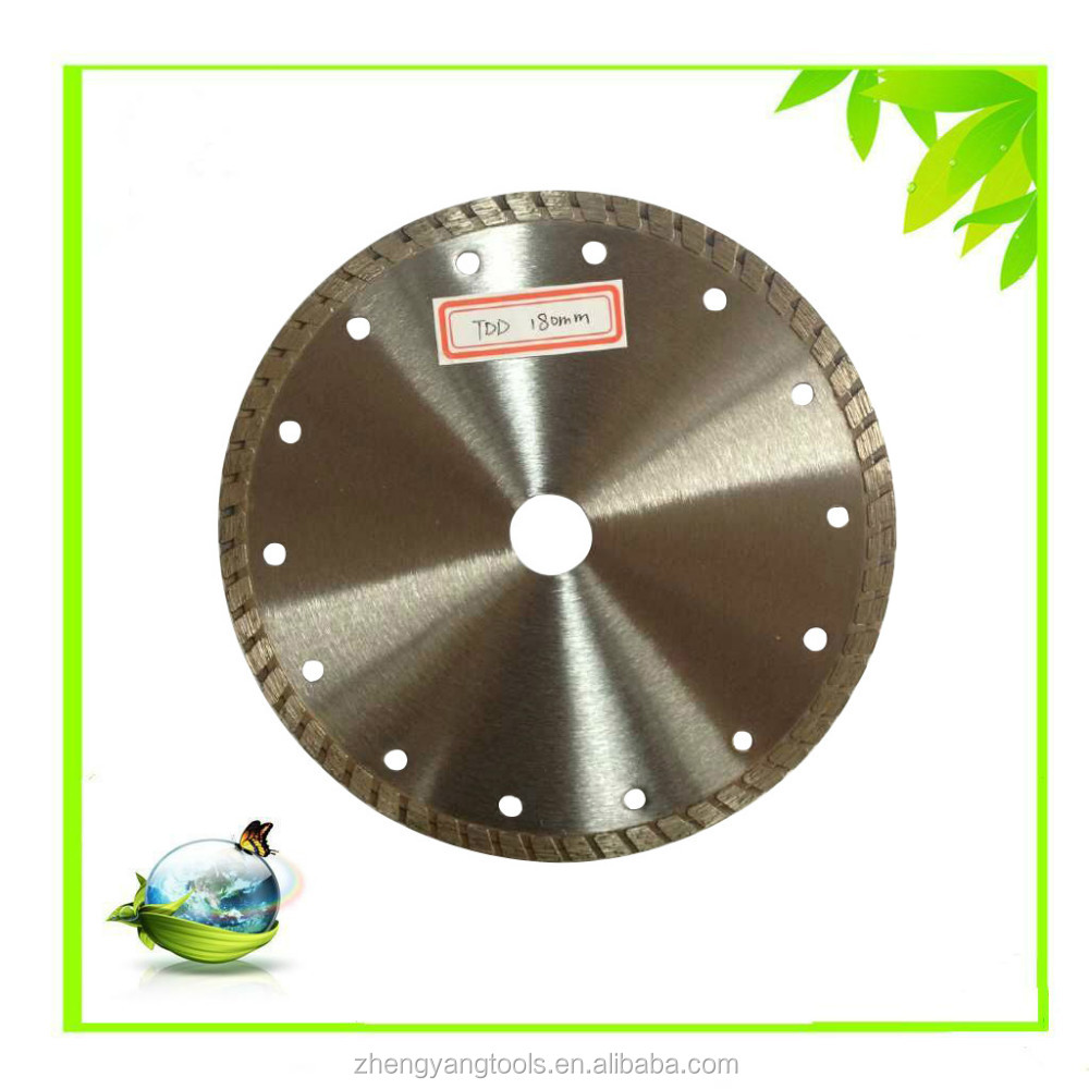 180mm turbo diamond saw blade for concrete cutting