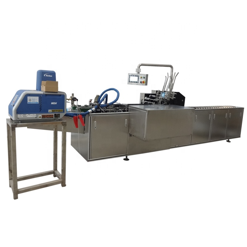 Zalf Cartoning Machine Voor Buizen, Sachets In Doos Machine