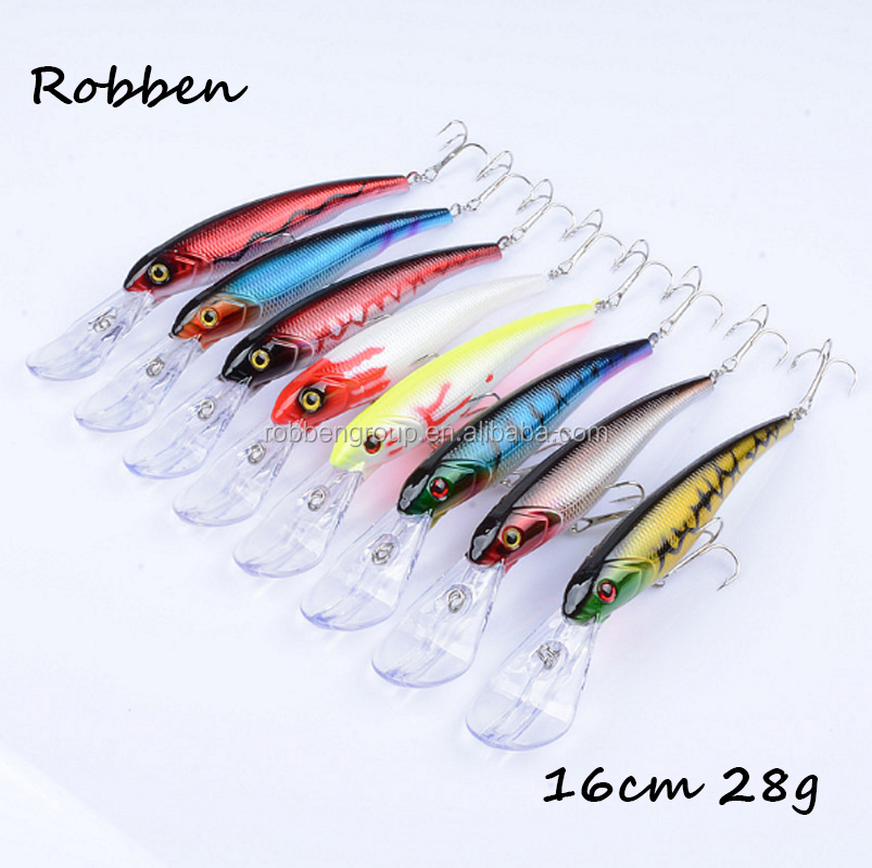 16cm 28g Wholesale Factory Make Good Price Sea Fishing Plastic Fish Bait Hard Minnow Fishing Lure