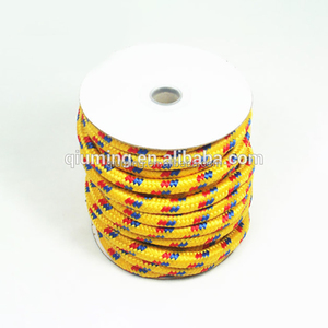 Custom hight quality nylon braided rope super strong multicolor cord braided rope