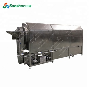 Rotary Brush Washing and Peeling Machine