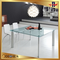 Economic latest cocktail table glass top