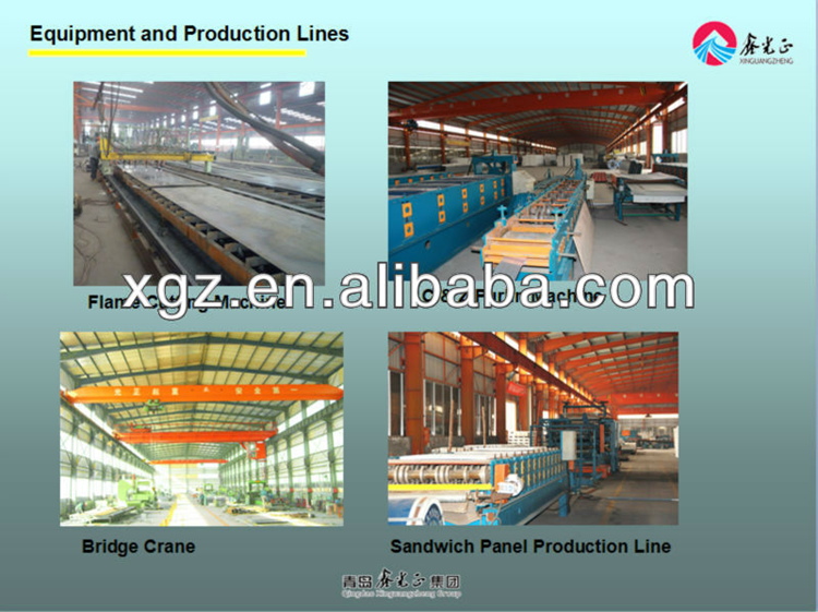 Steel Structure Materials for Workshop and Warehouse Factory