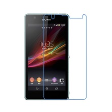 Ultra Clear HD Front LCD glossy Screen Protector Screen protective Film For sony xperia ZR M36H C5502 C5503 4.55″