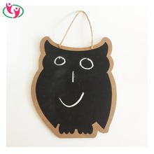 Quality MDF Animal Shaped Blackboard with string