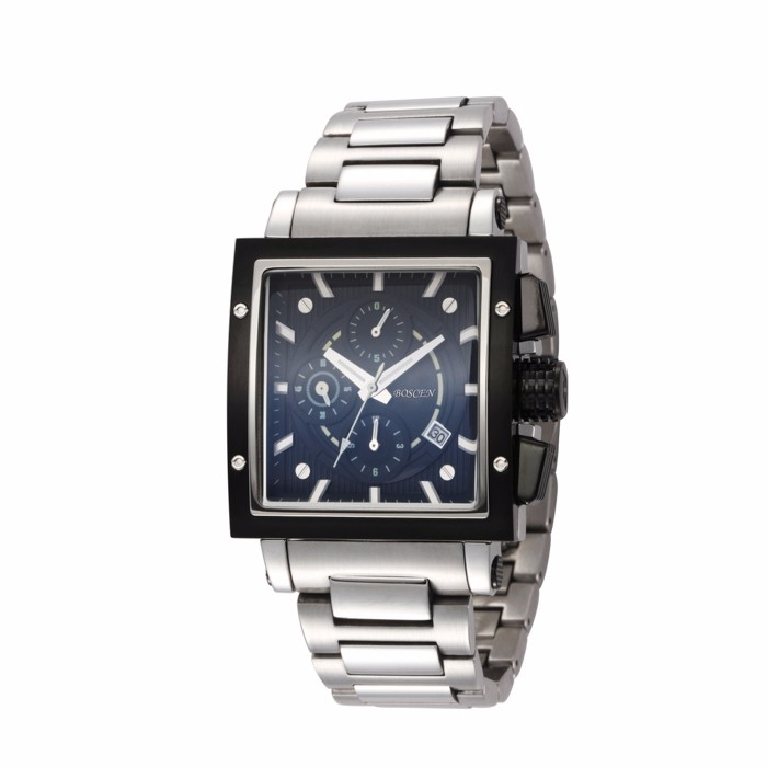 Custom Fitted Brand Movement Omax Quartz Watch Stainless Steel ...