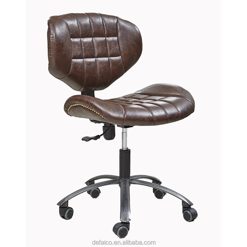 CH081 черный полная кожа исполнительный EA117 офисное кресло