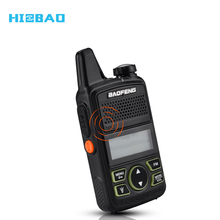 Mini BF-T1 Baofeng walkie talkie 2 W UHF <span class=keywords><strong>Radio</strong></span> Dua Arah